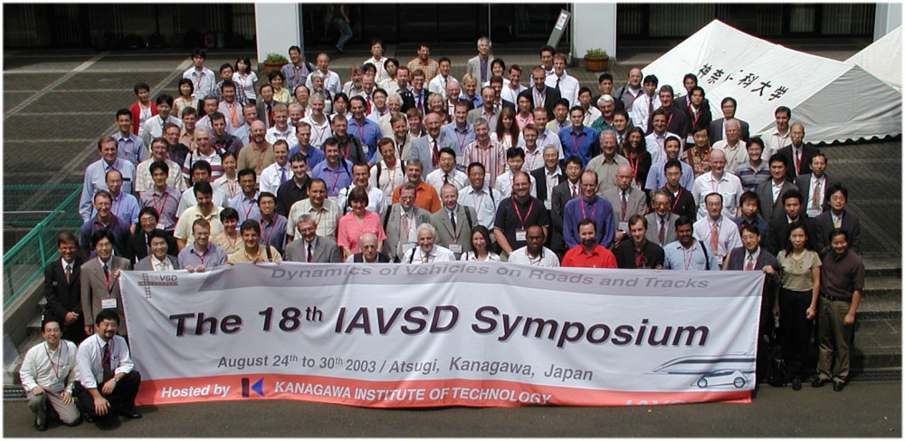Picture of delegates of IAVSD 2003