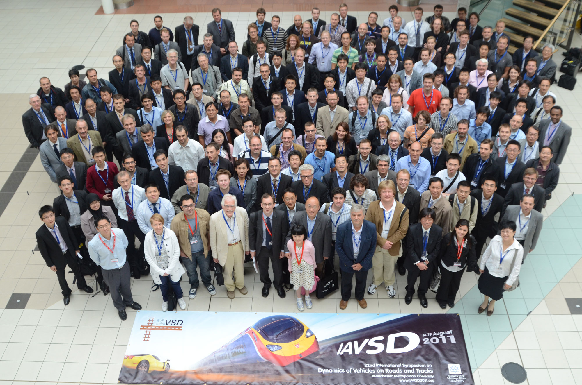 Picture of delegates of IAVSD 2011