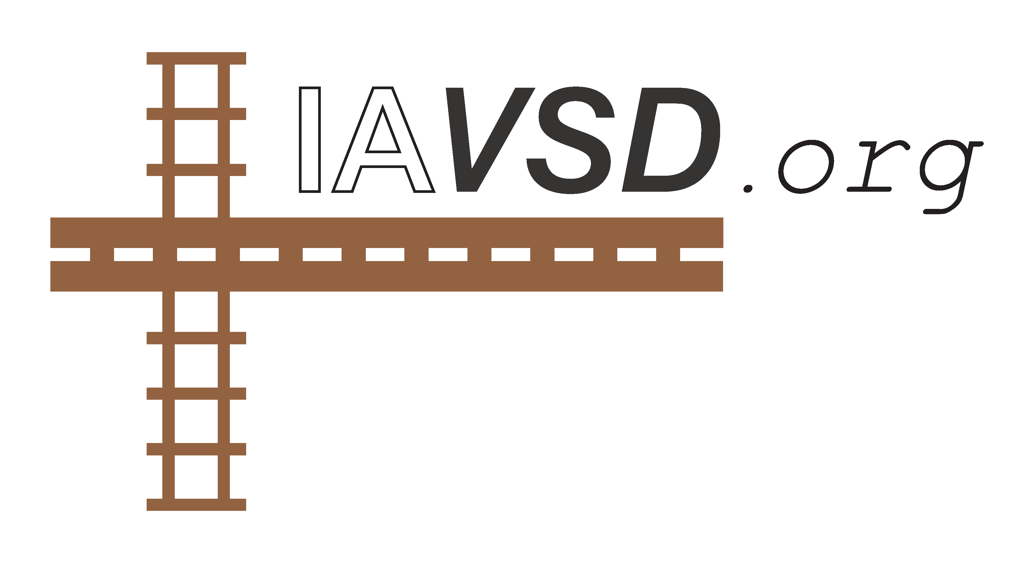 Picture of IAVSD logo and domain
